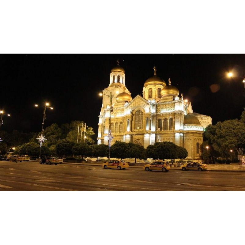 Вечерняя Варна и монастырь Аладжа  - фото 3 - 001.by