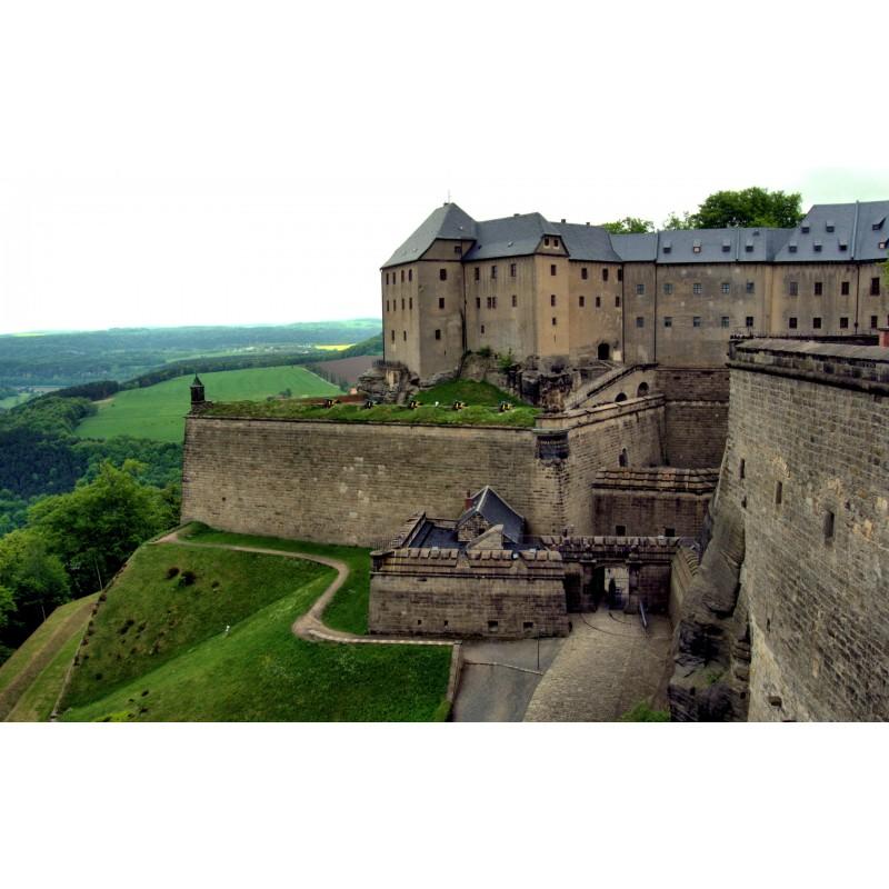 Саксонская Швейцария и крепость Кёнигштайн - фото 3 - 001.by