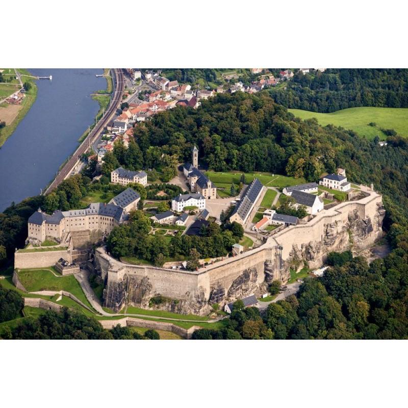 Саксонская Швейцария и крепость Кёнигштайн - фото 4 - 001.by