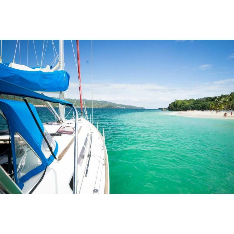 Прогулка на яхте в Доминикане
