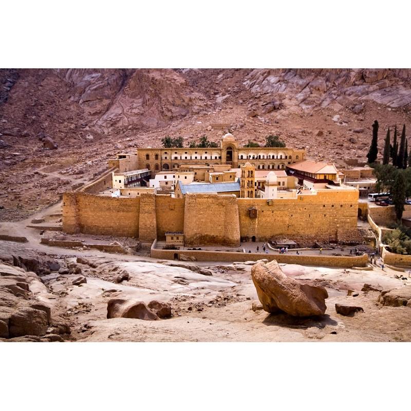 Гора Моисея и монастырь Святой Екатерины  - фото 1 - 001.by