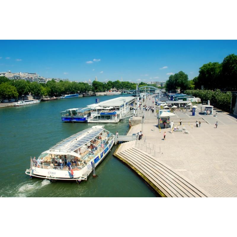 Обзорная экскурсия и прогулка на речном трамвайчике по реке Сена - фото 1 - 001.by