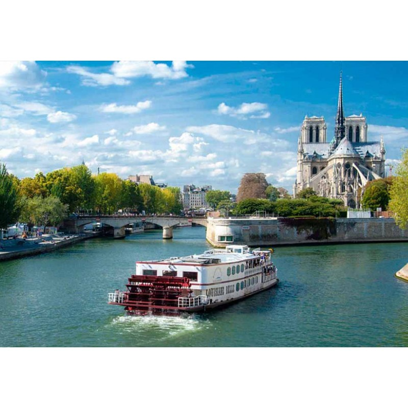 Обзорная экскурсия и прогулка на речном трамвайчике по реке Сена - фото 2 - 001.by