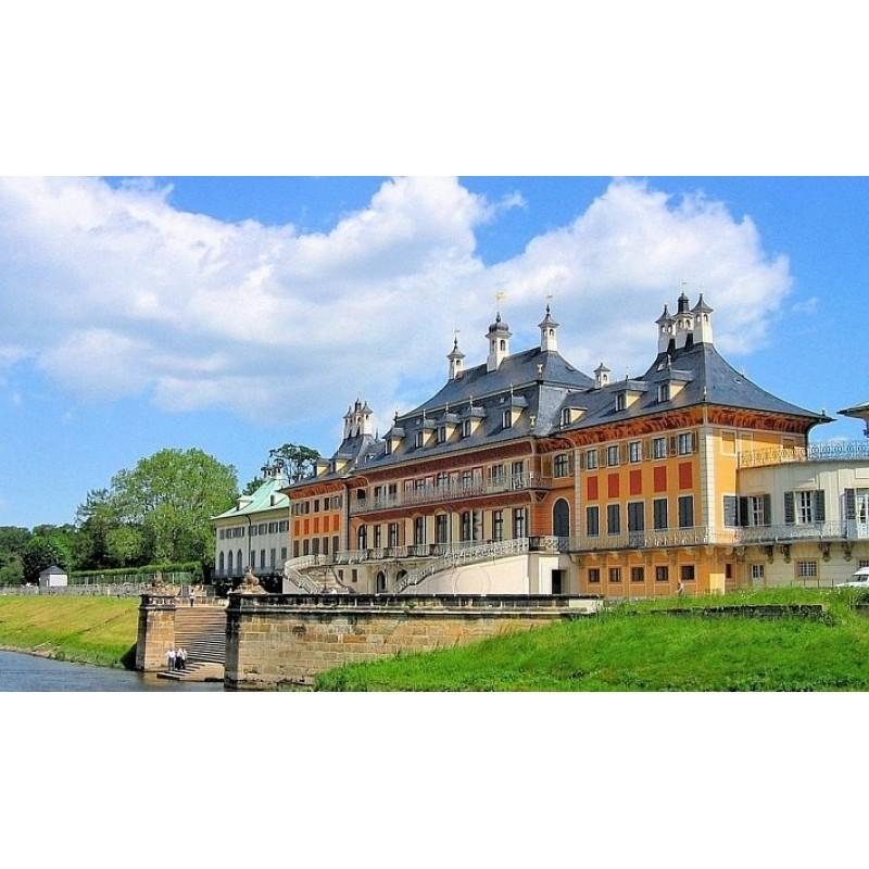 Парк бывшей королевской резиденции Пильниц - фото 1 - 001.by