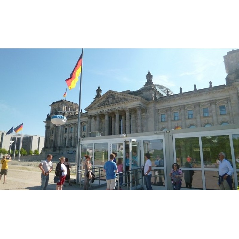Правительственный квартал и историческое здание Рейхстага - фото 1 - 001.by
