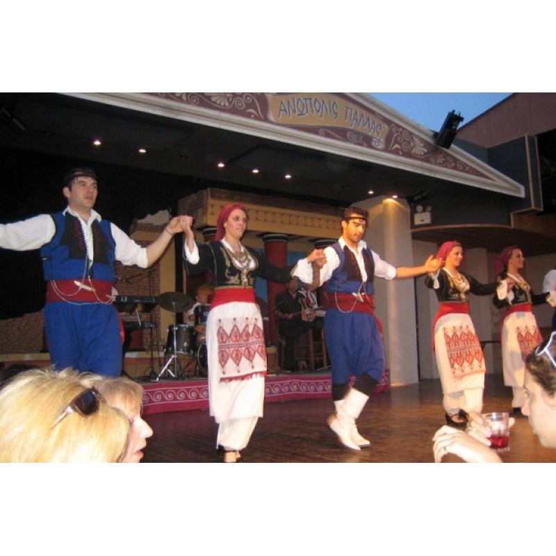 """Экскурсия в Греции """"Критский вечер"""""""