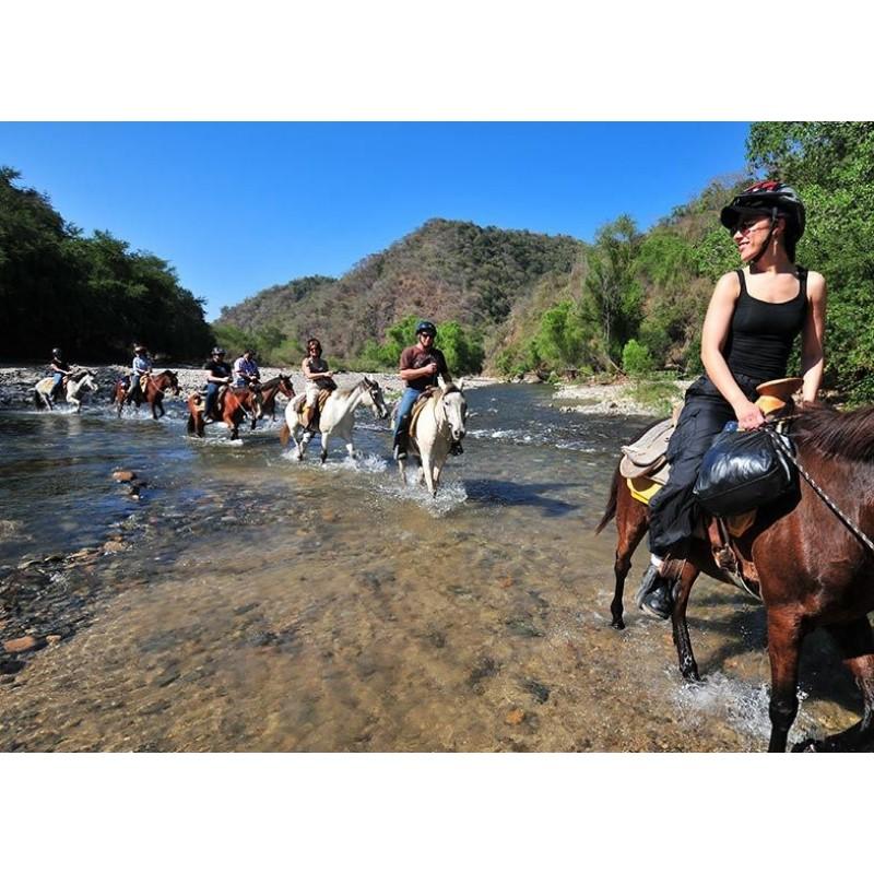 Прогулка на лошадях по острову Кос