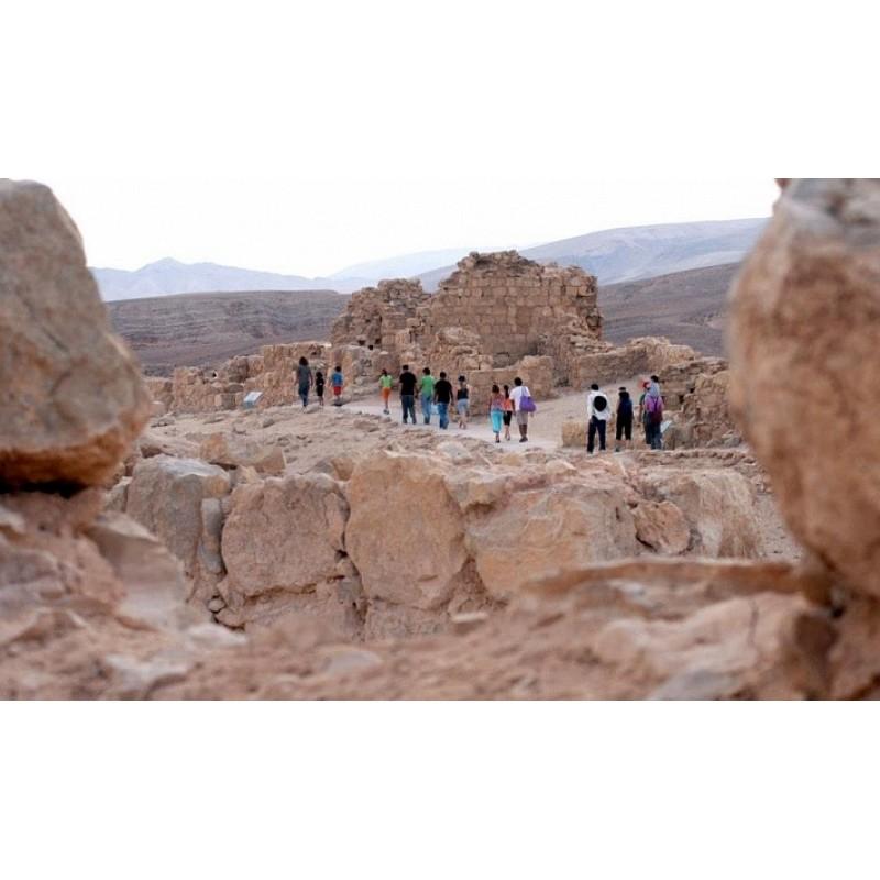 День отдыха на Мёртвом море, крепость Массада  - фото 4 - 001.by
