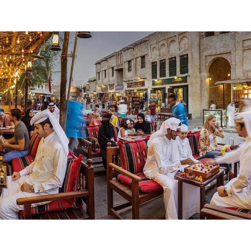 Вечерняя обзорная экскурсия по Дохе с ужином - фото 2 - 001.by