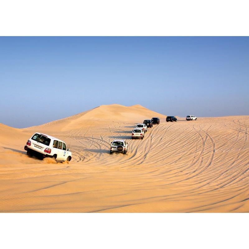 Сафари в пустыне на целый день с обедом