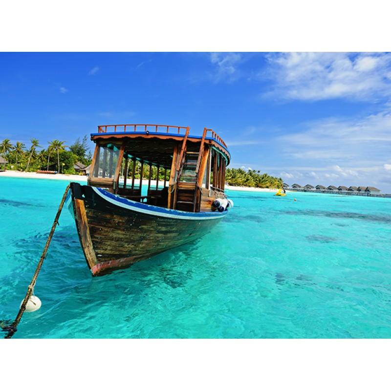 Морская прогулка на лодке