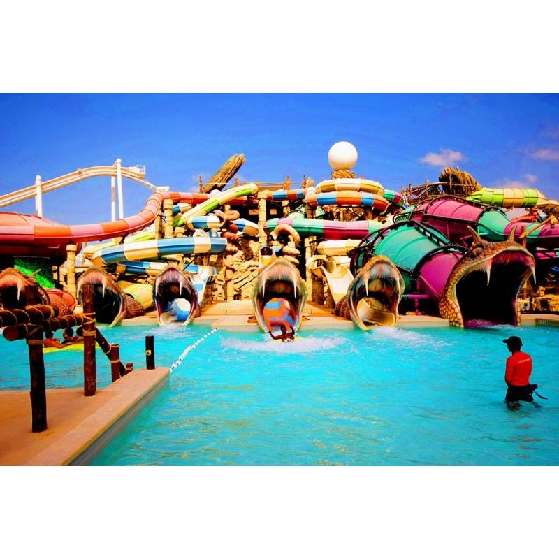 Экскурсия в Ferrari & аквапарк Yas Waterworld