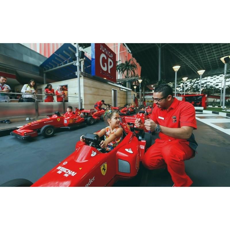 Мир Ferrari & аквапарк Yas Waterworld - фото 3 - 001.by