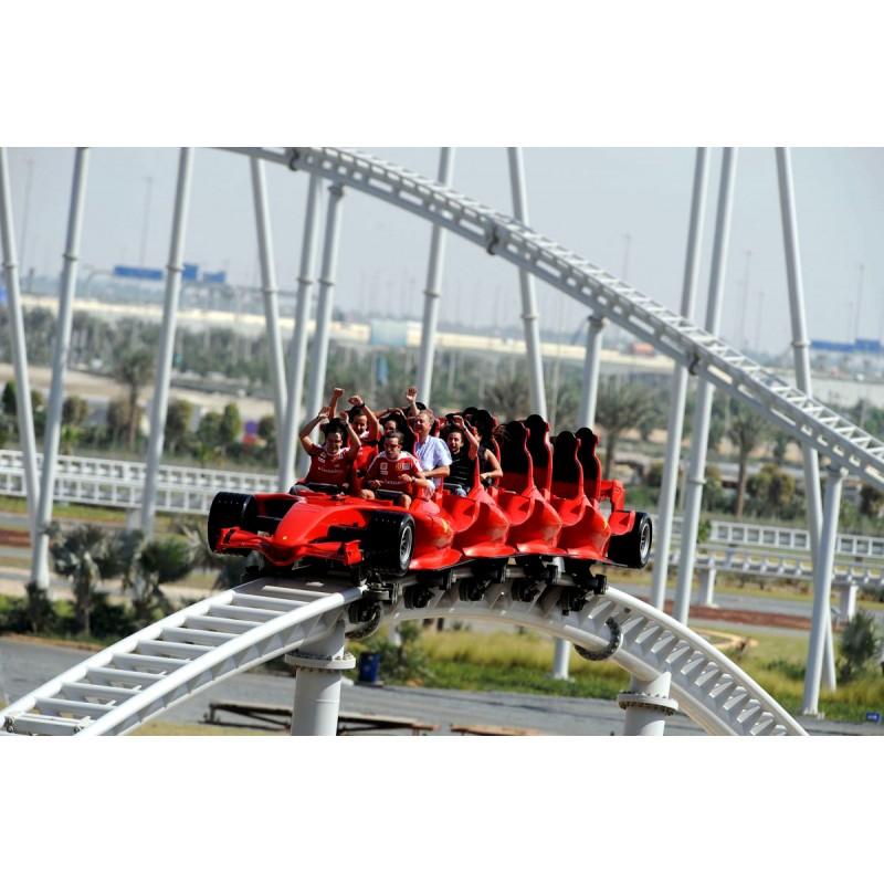 Мир Ferrari & аквапарк Yas Waterworld - фото 4 - 001.by