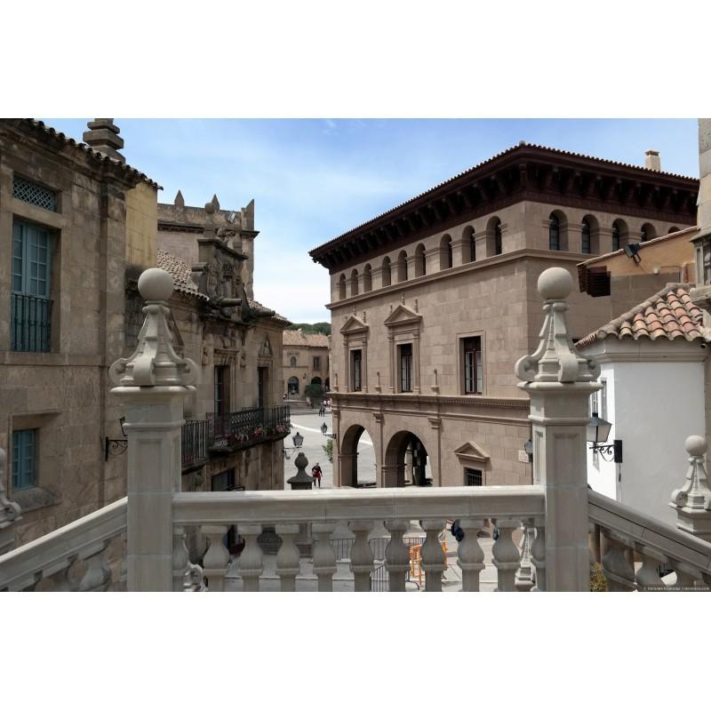 Барселона туристическая: испанская деревня и Поющий фонтан - фото 2 - 001.by