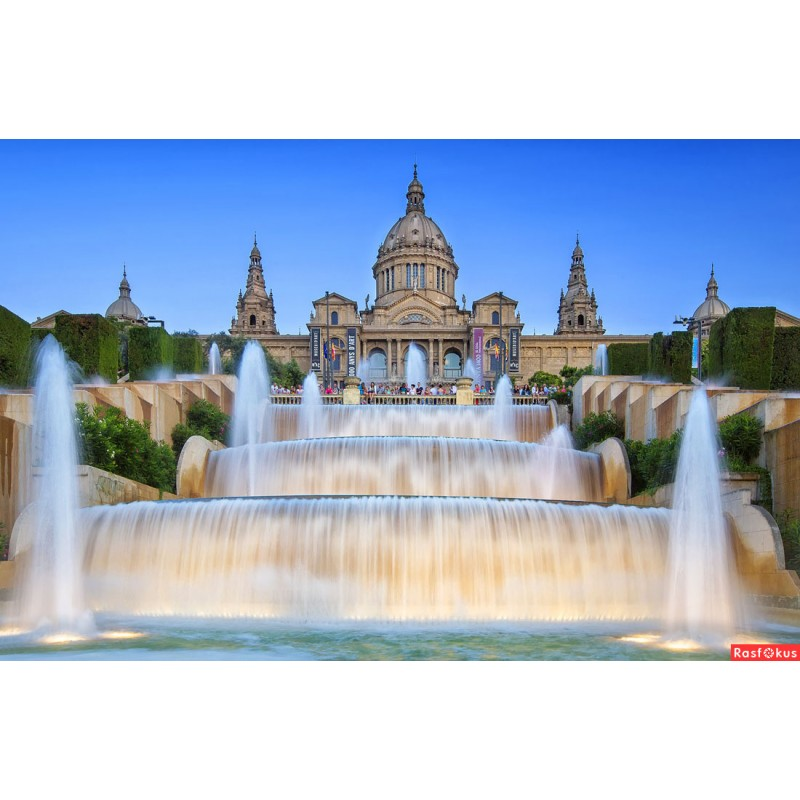 Барселона туристическая: испанская деревня и Поющий фонтан - фото 3 - 001.by