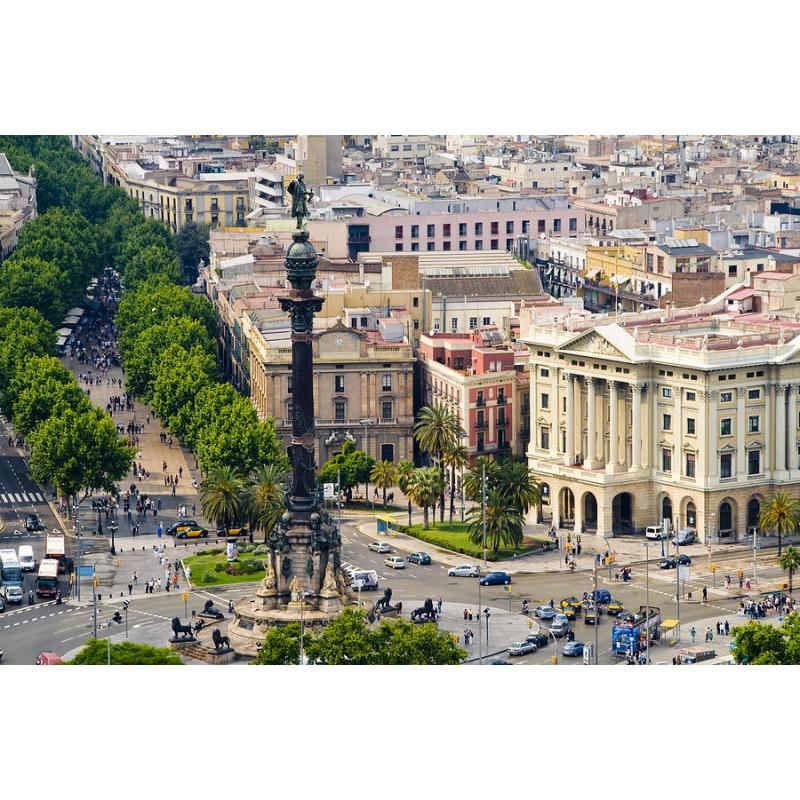 Пешеходная экскурсия по Барселоне