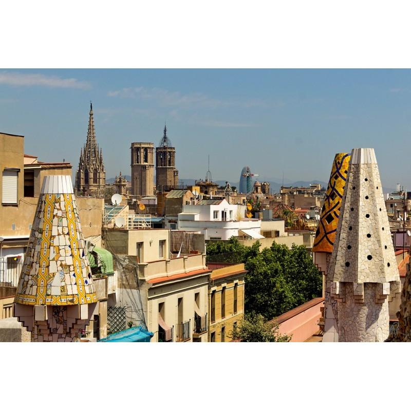 Экскурсия Рамбла и Дворец Гуэля в Барселоне - фото 3 - 001.by