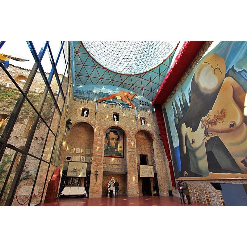 Театр-музей Сальвадора Дали и Жирона - фото 2 - 001.by