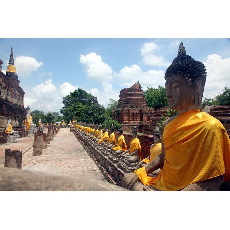 Аюттайя - древняя столица Сиама  - фото 2 - 001.by