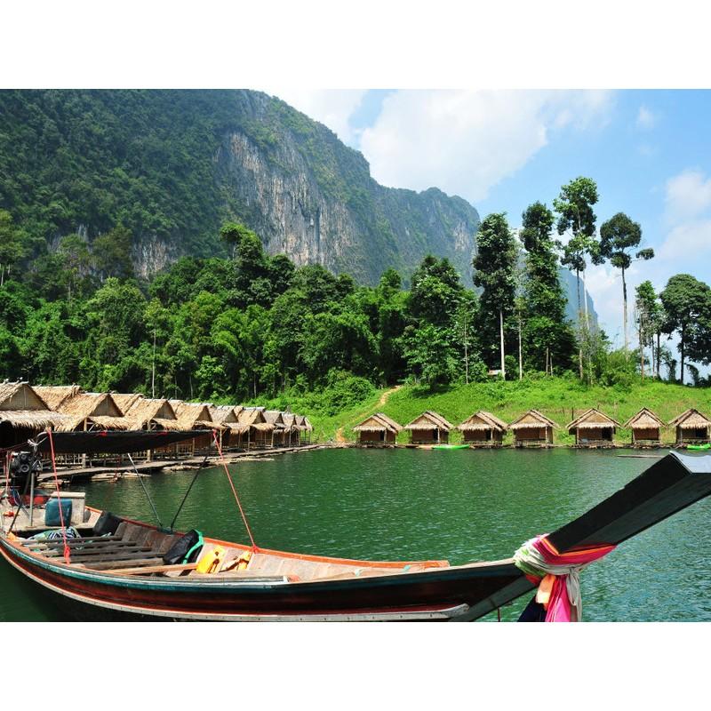 Национальный парк Као Сок и к озеру Чео Лан