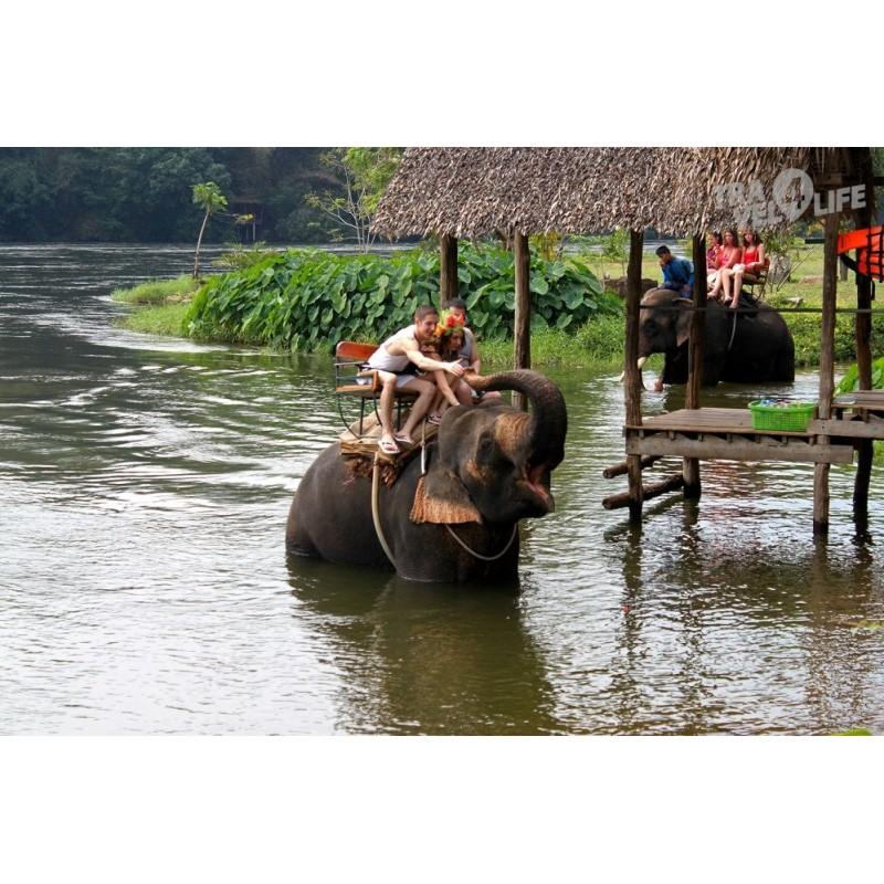 Двухдневная экскурсия на реку Квай (в Паттайе) - фото 3 - 001.by