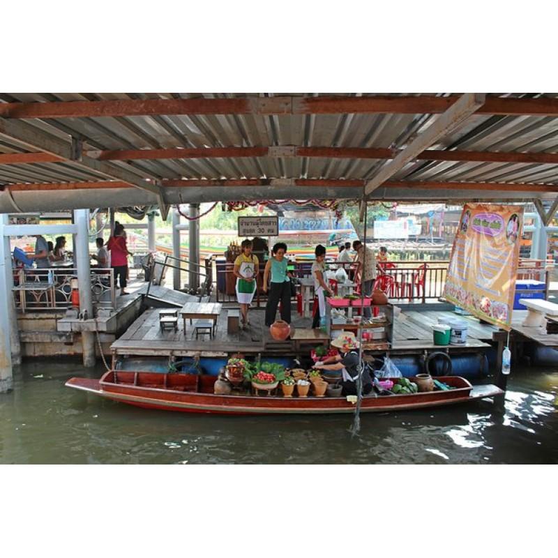 Плавучий рынок в Бангкоке - фото 2 - 001.by