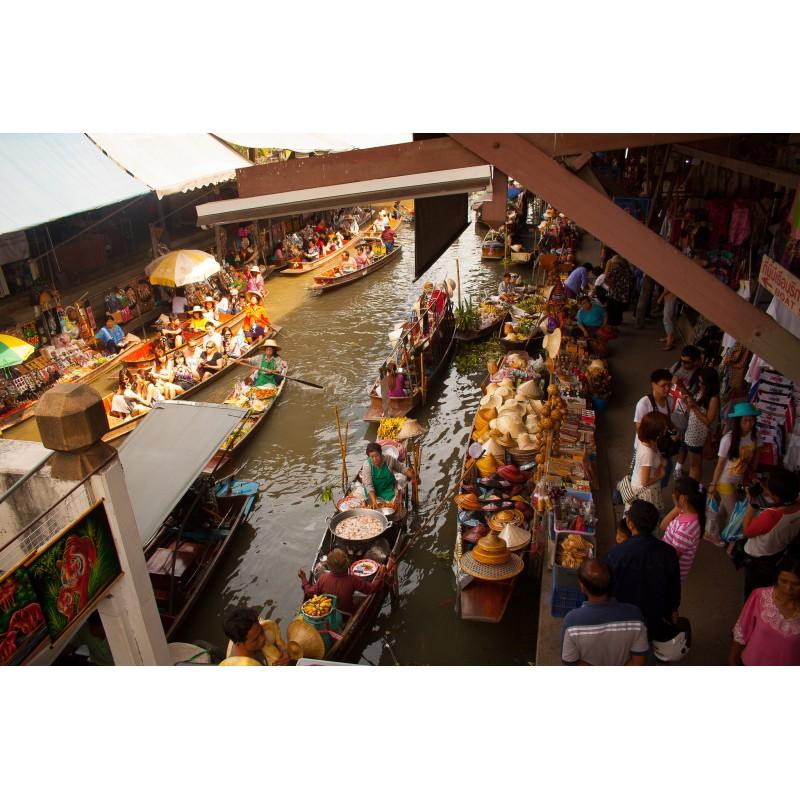 Плавучий рынок в Бангкоке - фото 3 - 001.by