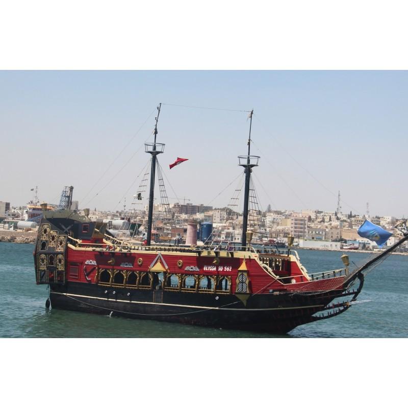 Морская прогулка в Тунисе
