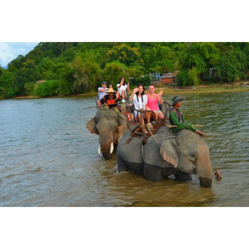 Экскурсия в Дак Лак: край слонов, водопадов и кофе - фото 2 - 001.by