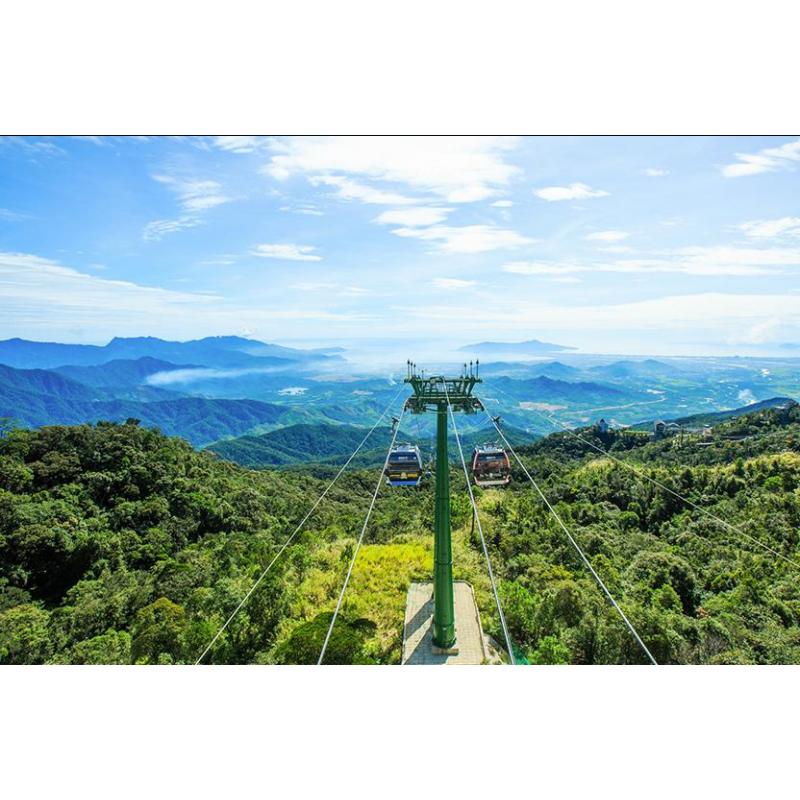 Гора Бана во Вьетнаме