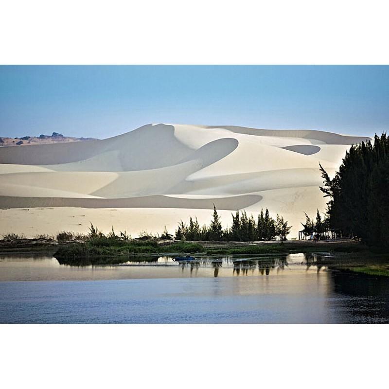 Экскурсия на озеро Священных Лотосов, поездка по Белым и Красным дюнам - фото 3 - 001.by